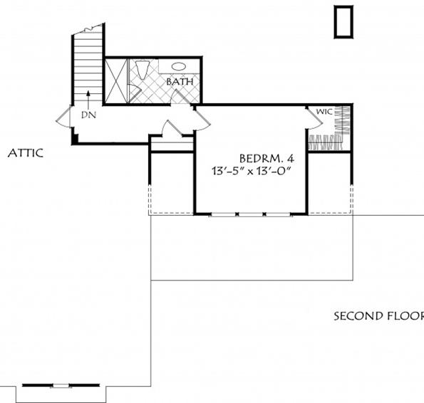 Custom Modern Farmhouse Plan